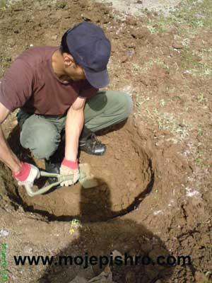 اسکان اضطراری / حفر چاه