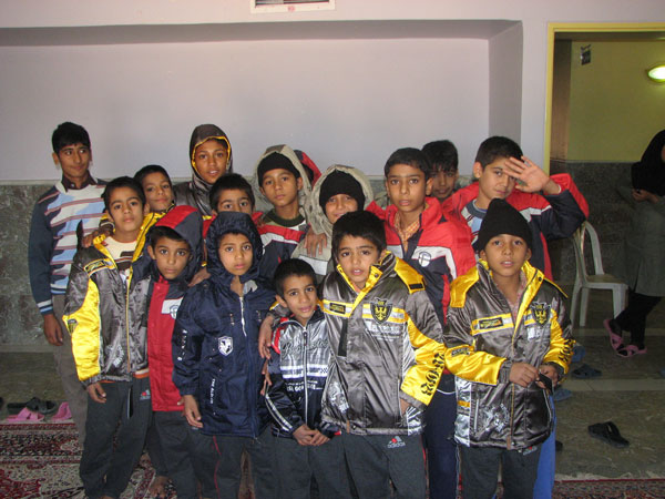 کودکان مرکز مومن آباد بم / زمستان 1388 /