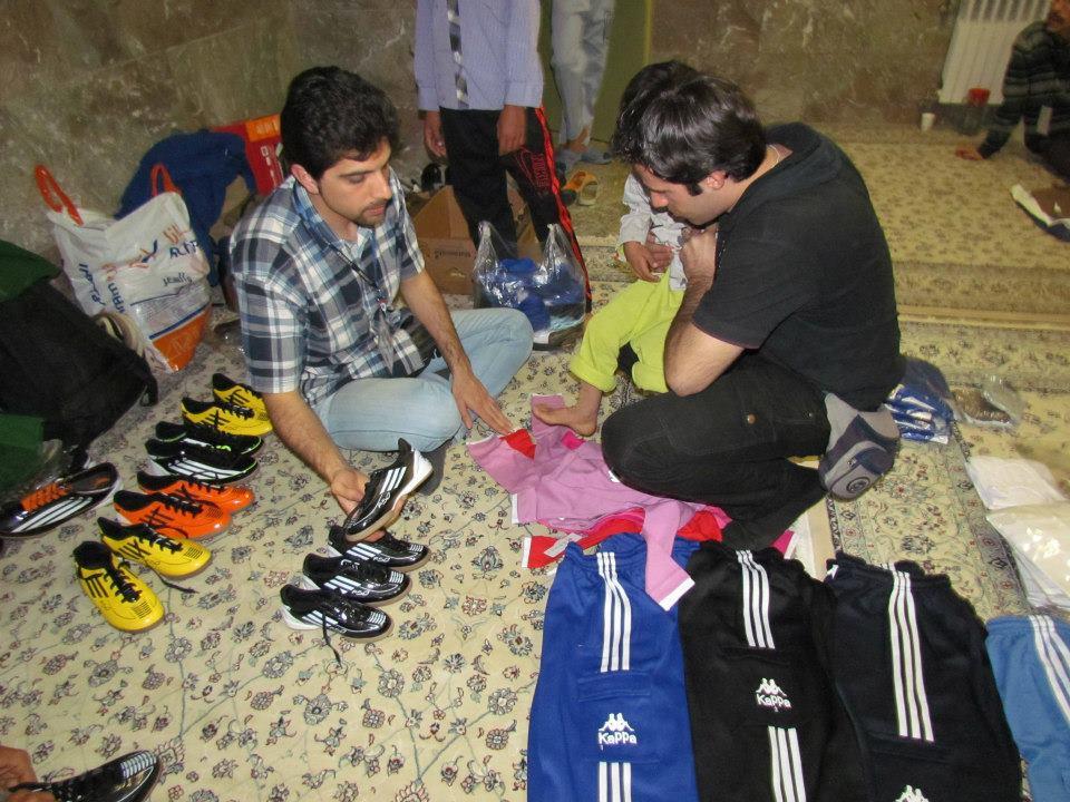 برنامه سفر عید ۱۳۹۲ به مرکز کودکان مومن آباد بم