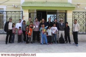 سفر عید گروه نجات موج پیشرو به مرکز کودکان مومن آباد بم