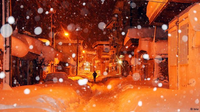 هنر زنده ماندن در شرایط سخت برف و سرما
