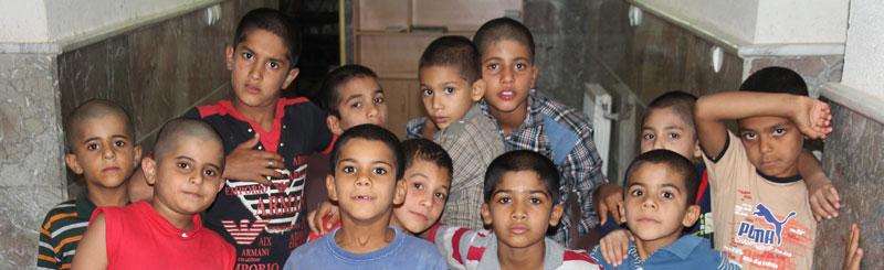 سفر عید گروه نجات موج پیشرو به مرکز کودکان علی ابن ابیطالب