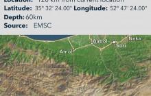 زلزله تهران امشب بر اثر حرکت گسلی در یکصد کیلومتری تهران بود
